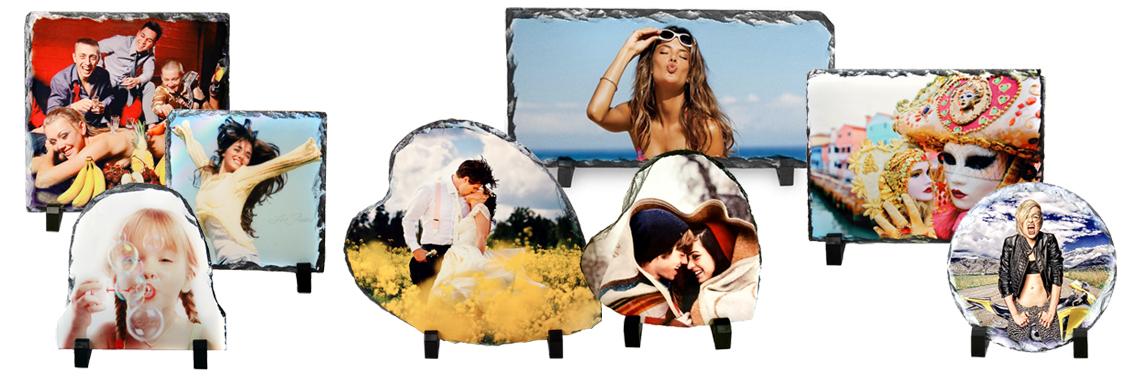Foto-Graniidid (Fotokivid) Teie fotoga, pildiga või logoga