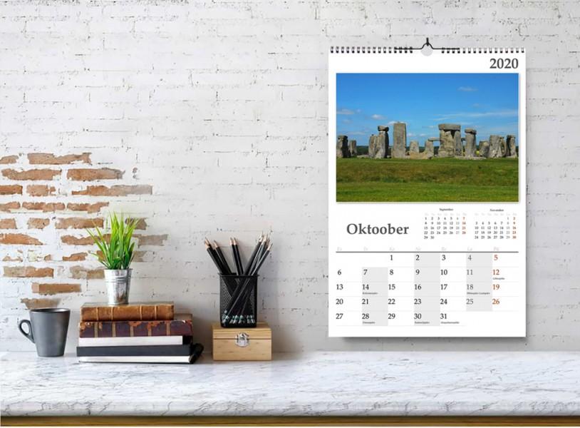 """Fotokalender A4 """"vert"""""""