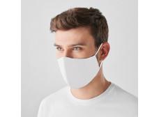 Korduvkasutatav mask, valge